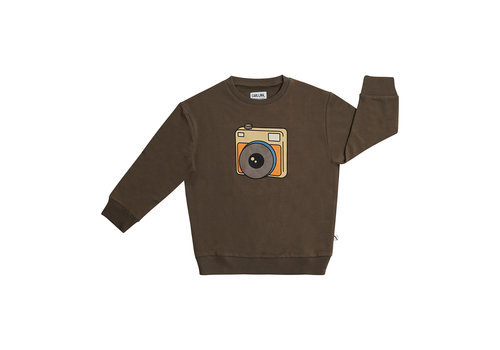 CarlijnQ CarlijnQ Photo Camera - sweater with print
