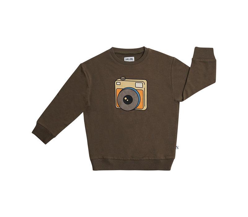 CarlijnQ Photo Camera - sweater with print