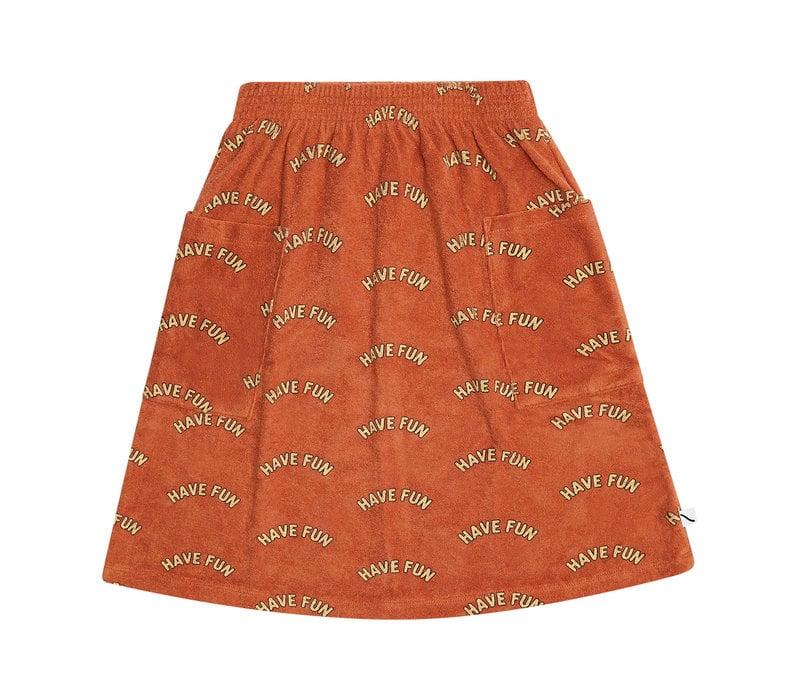 CarlijnQ Have fun -  midi skirt with pockets