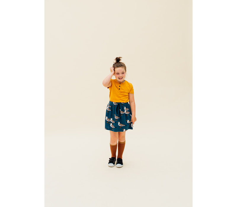 CarlijnQ  Seagull - skirt with pockets