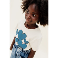 CarlijnQ Hearts - t-shirt with print