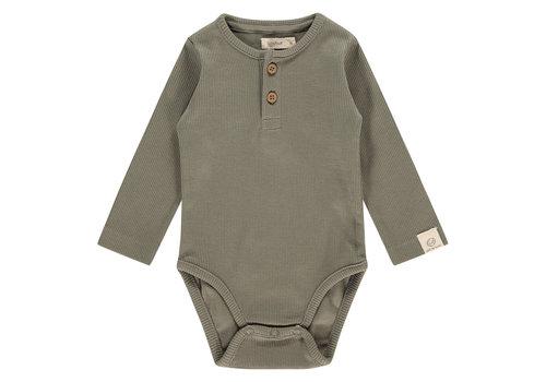 Babyface Babyface baby romper long sleeve/olive green/P11/4 NWB21129630-006