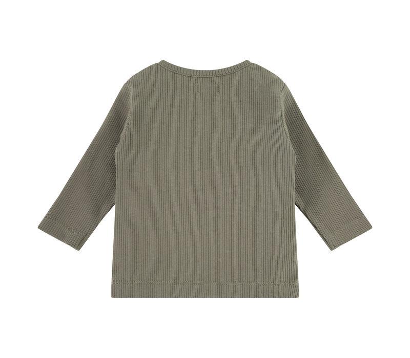 Babyface baby t-shirt long sleeve/olive green/P11/4 NWB21129633-006