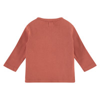 Babyface baby t-shirt long sleeve/indian red/P11/4 NWB21129633-002