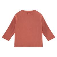 Babyface baby t-shirt long sleeve/indian red/P11/4 NWB21129633-002