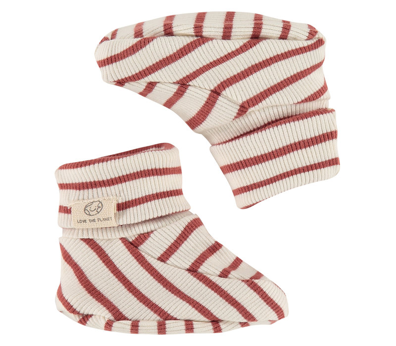 Babyface baby slippers/indian red/P14/4 NWB21129934-004