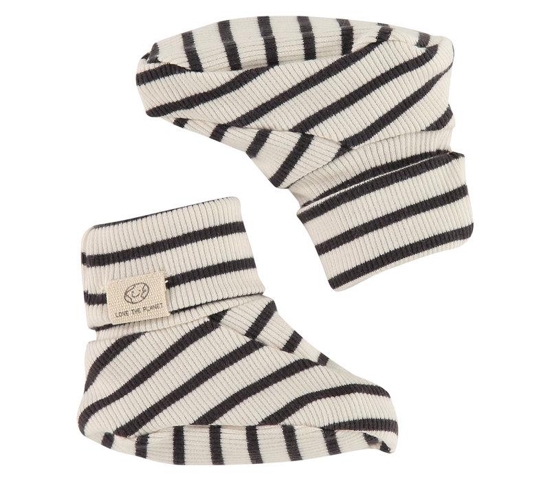 Babyface baby slippers/ebony/P14/4 NWB21129934-001