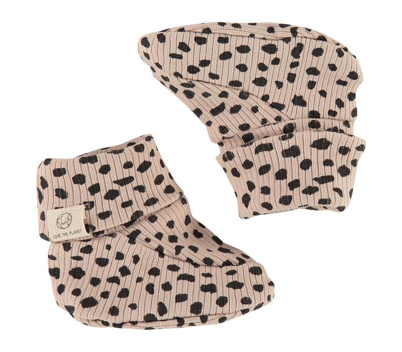 Babyface baby slippers/seashell/P14/4 NWB21129933-001
