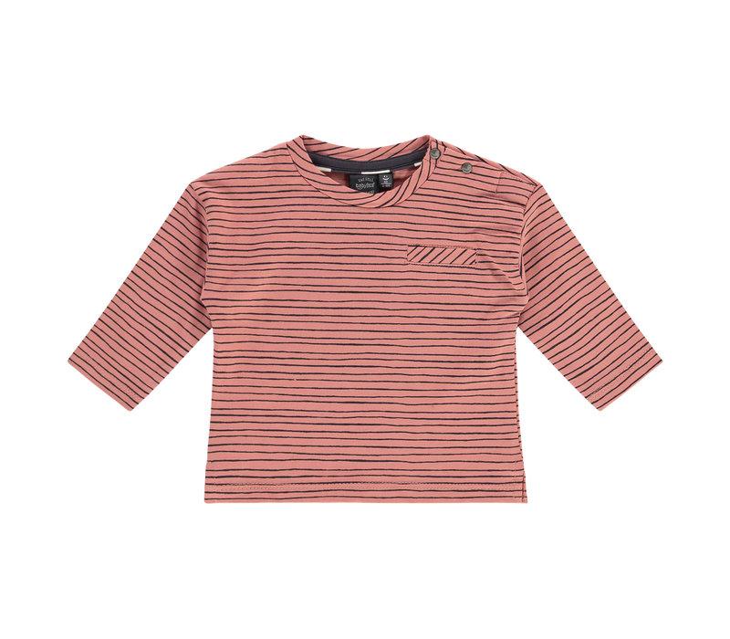 Babyface baby boys t-shirt long sleeve/dark salmon/P21/4 NWB21227643-004