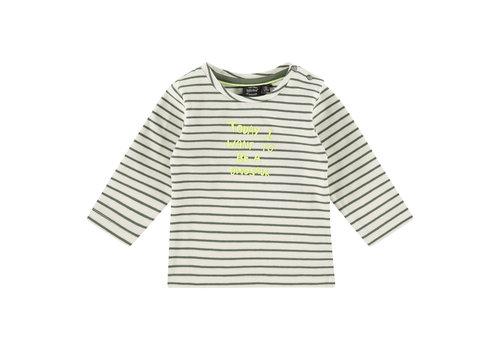 Babyface Babyface baby boys t-shirt long sleeve/army/P21/4 NWB21127605-004