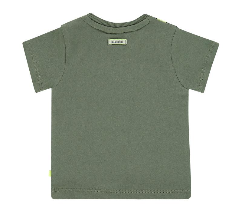 Babyface baby boys t-shirt short sleeve/army/P21/4 NWB21127615-004