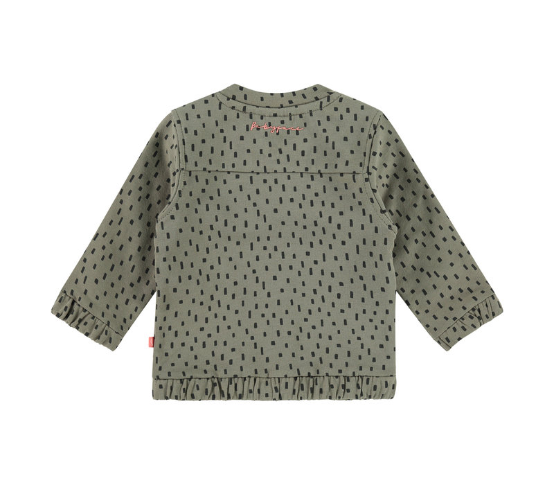 Babyface baby girls cardigan/moss/P21/4 NWB21128400-004