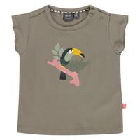 Babyface baby girls t-shirt short sleeve/moss/P21/4 NWB21128608-004