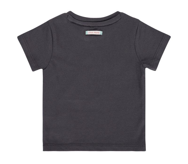 Babyface baby boys t-shirt short sleeve/antra/P21/4 NWB21227645-004