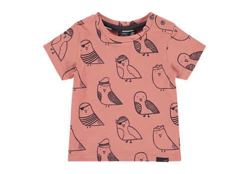 Babyface Babyface baby boys t-shirt short sleeve/dark salmon/P21/4 NWB21227653-004