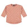 Babyface Babyface baby girls t-shirt long sleeve/rosewood/P21/4 NWB21228641-004