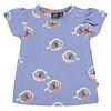 Babyface Babyface baby girls t-shirt short sleeve/lavender blue/P21/4 NWB21228646-004