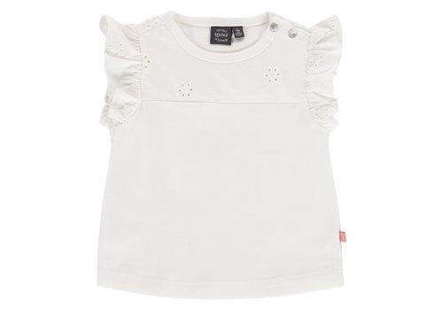 Babyface Babyface baby girls t-shirt short sleeve/creme/P21/4 NWB21228647-004