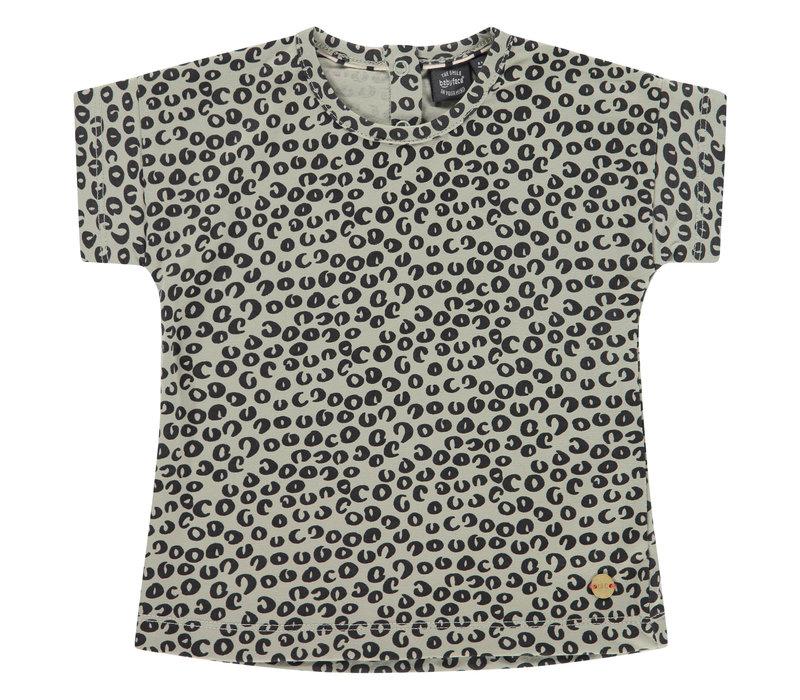 Babyface girls t-shirt short sleeve olive BBE21108610