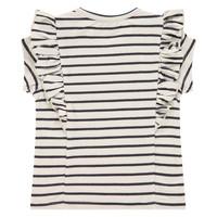 Babyface girls t-shirt short sleeve ivory BBE21108612