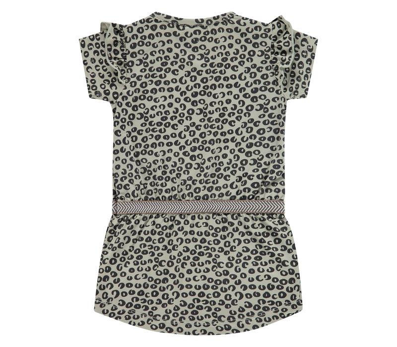 Babyface girls dress olive BBE21108706
