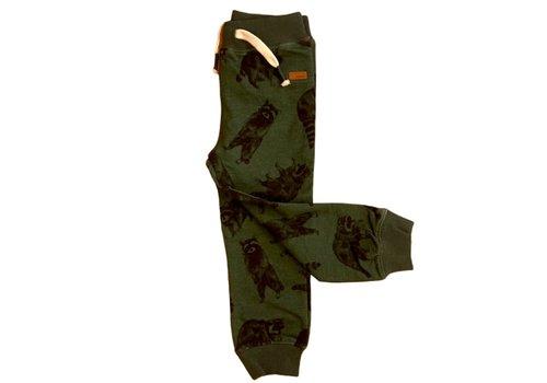 Name it Name It broek racoon birstro green