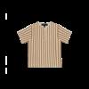 House of Jamie House of Jamie Henley Shirt Vertical Apple Cider Stripes