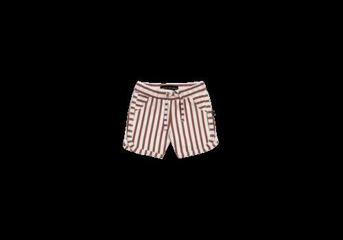 House of Jamie House of Jamie Swim Gym Shorts Baked Clay Stripes