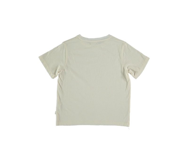 My Little Cozmo ORGANIC COTTON FLAME T-SHIRT IVORY