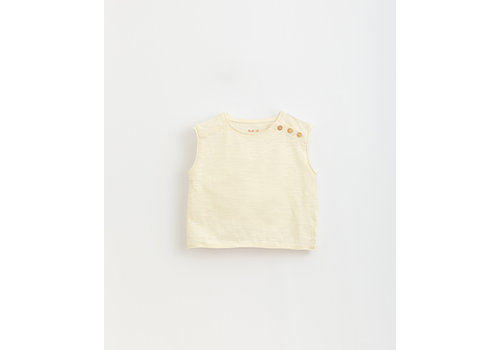 PlayUp PlayUp Flamé Jersey Sleeveless T-Shirt DANDELION