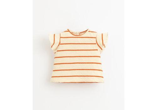 PlayUp PlayUp Striped Jersey T-Shirt ANISE
