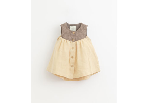 PlayUp PlayUp Mixed Dress PINHA
