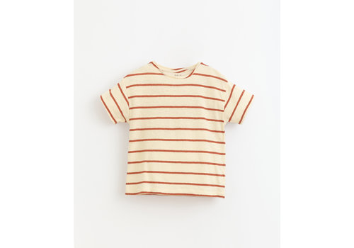 PlayUp PlayUp Striped Jersey T-Shirt FARM