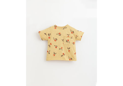 PlayUp PlayUp Printed Flamé Jersey T-Shirt STRAW