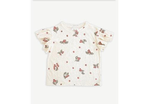 PlayUp PlayUp Printed Jersey T-Shirt MUSHROOM