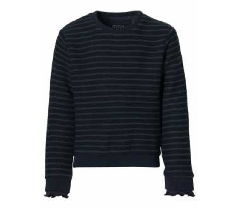Levv LEYLA W201 Dark Blue Stripe