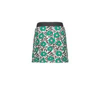 Moodstreet  skirt AOP flower Green