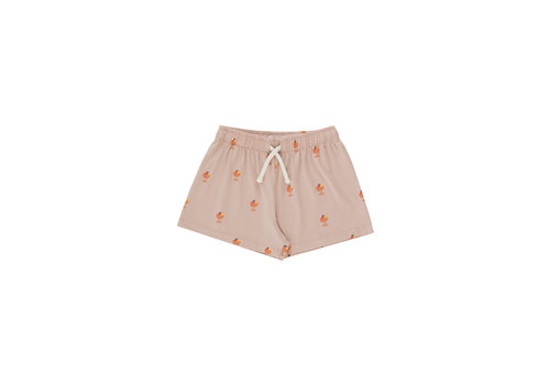Tinycottons Tinycottons ICE CREAM CUP SHORT  dusty pink/papaya
