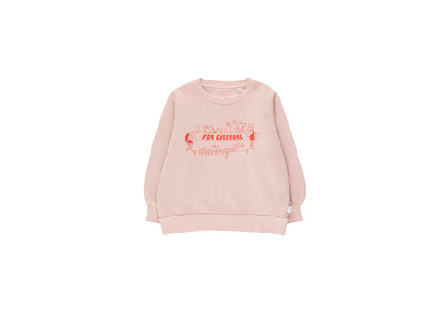 Tinycottons Tinycottons FOR EVERYONE SWEATSHIRT  dusty pink/red