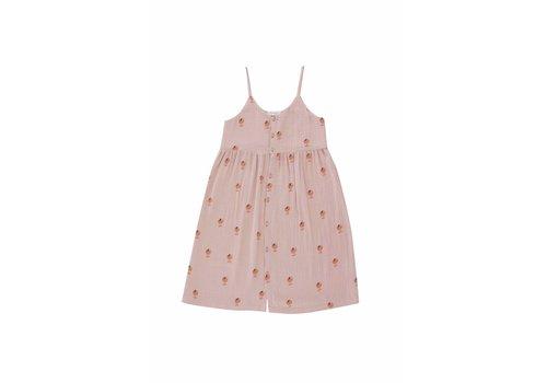 Tinycottons Tinycottons ICE CREAM CUP1 DRESS  dusty pink/papaya