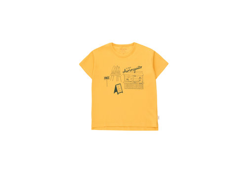 Tinycottons Tinycottons CENTRAL BEACH TEE  yellow/dark teal