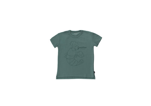Tinycottons Tinycottons GAMBITA CHEF TEE  dark teal/ink blue
