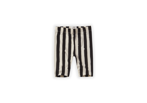Sproet & Sprout Sproet & Sprout Legging short Painted Stripe Off White