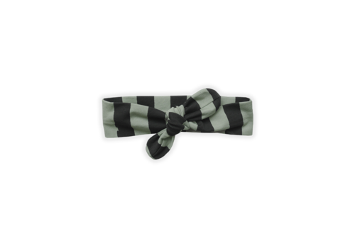 Sproet & Sprout Sproet & Sprout Headband Painted Stripe Eucalyptus