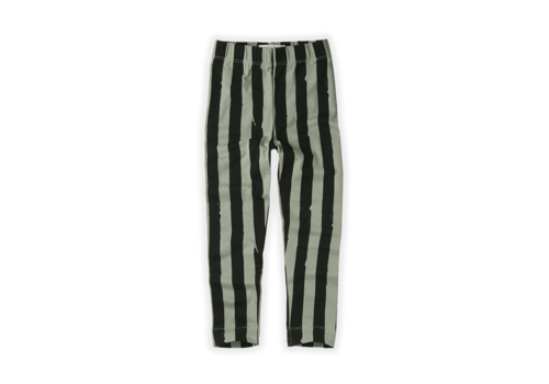 Sproet & Sprout Sproet & Sprout Legging Painted Stripe Eucalyptus