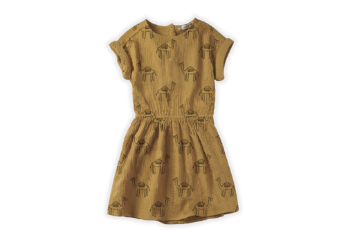 Sproet & Sprout Sproet & Sprout Dress Snake Print Desert