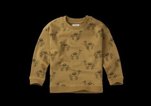 Sproet & Sprout Sproet & Sprout Sweatshirt Print Camel Desert