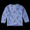 Sproet & Sprout Sproet & Sprout Sweatshirt Terry Print Icecream Bright Blue