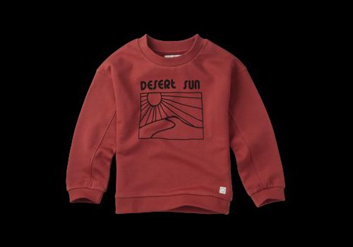 Sproet & Sprout Sproet & Sprout Sweatshirt Desert Sun Cherry Red