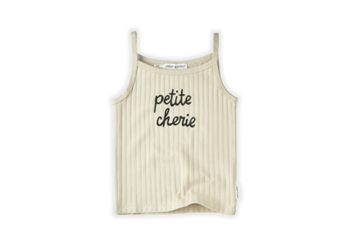Sproet & Sprout Sproet & Sprout Tanktop Rib Petite Cherie Sesam